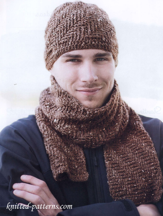 Cable Knit Scarf Patterns