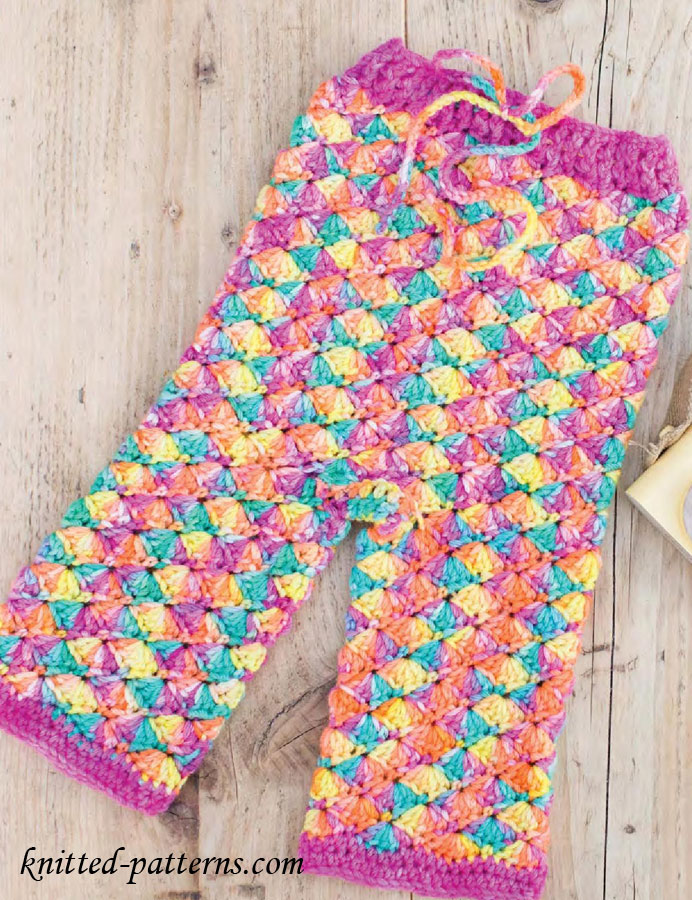 Knitting Pattern For Toddler Leggings : Childs Crochet Leggings