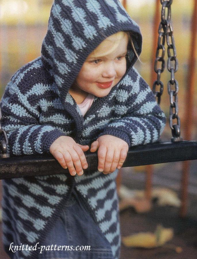 Crochet Child S Coat