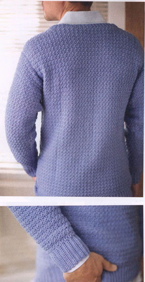 Poncho Sweater Mens