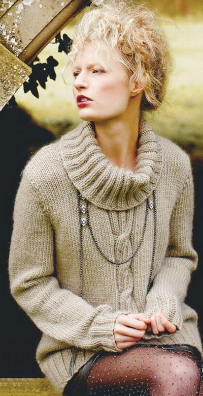 Women S Sweater Knitting Pattern Free