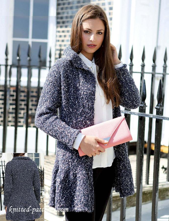 Ladies Jacket Knitting Pattern Free
