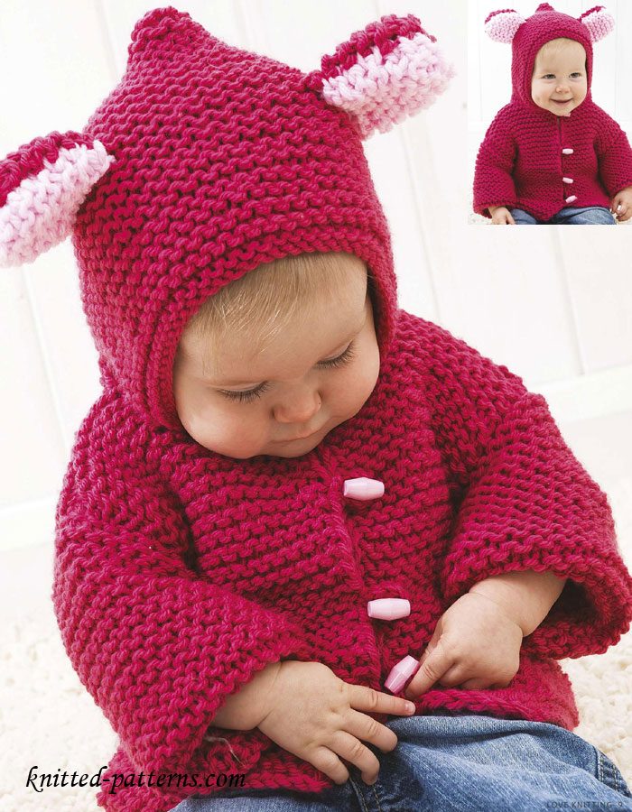 Knitting Websites Uk : Baby jacket knitting pattern uk english sweater vest