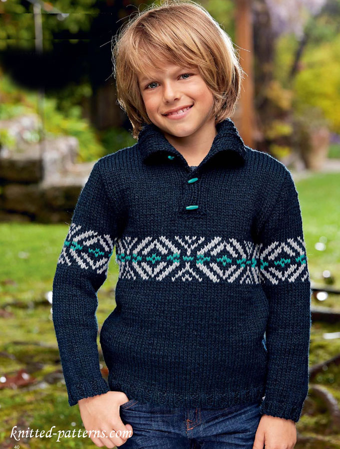 Boy Sweater Vest