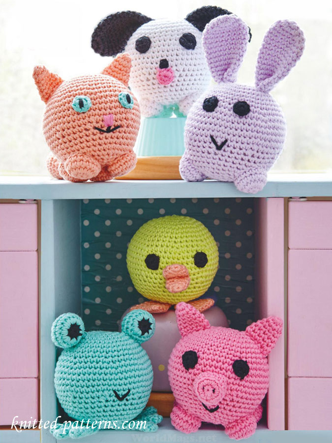 Amigurumi Patterns Animals