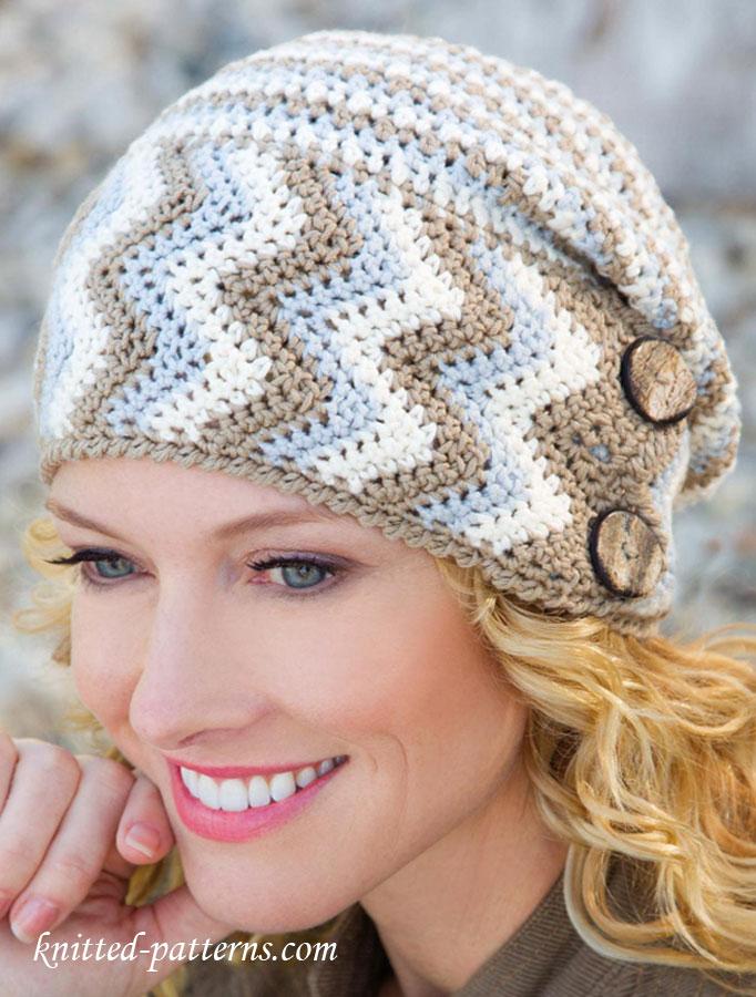 womens hat crochet pattern free