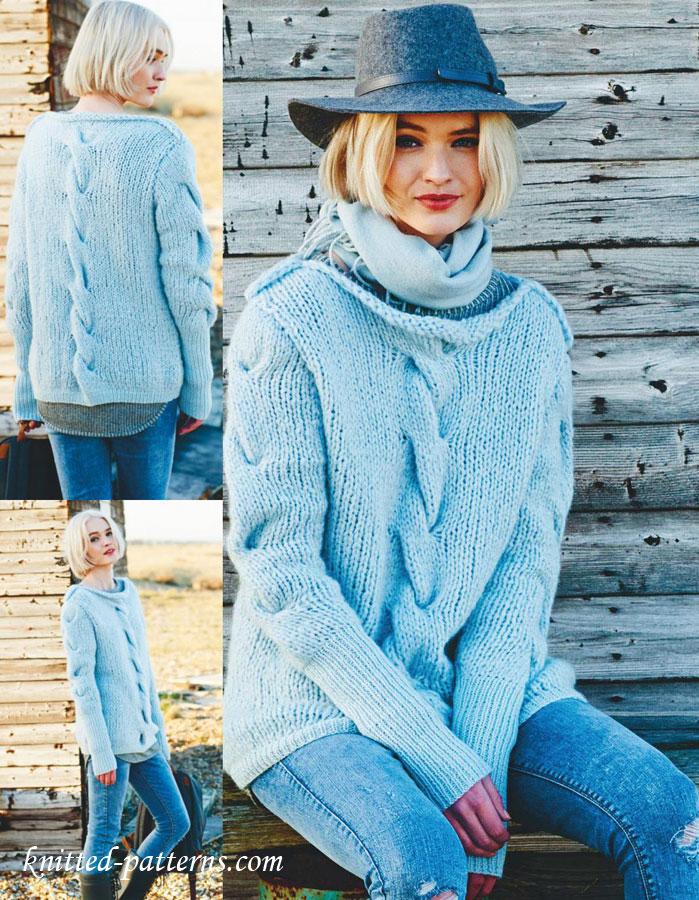 Sweater Knitting Pattern Free