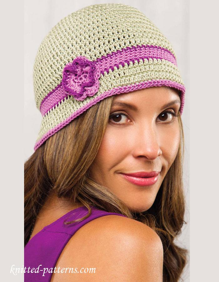Free Knitting Pattern Baby Cloche Hat : Cloche hat crochet pattern free
