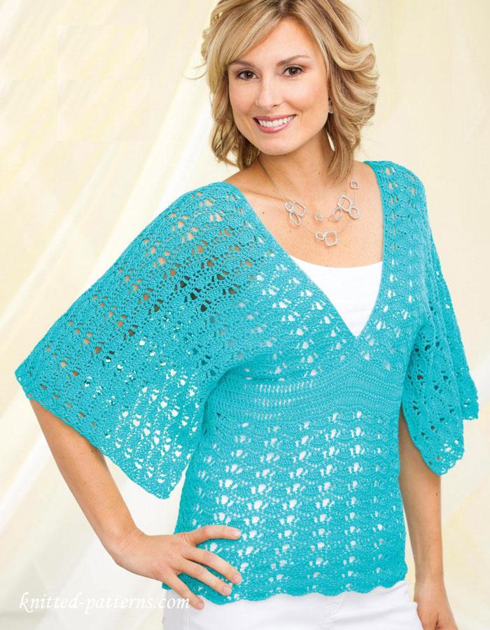 Crochet Crop Top by Jane Green of Beautiful Crochet Stuff ... |Thread Crochet Top
