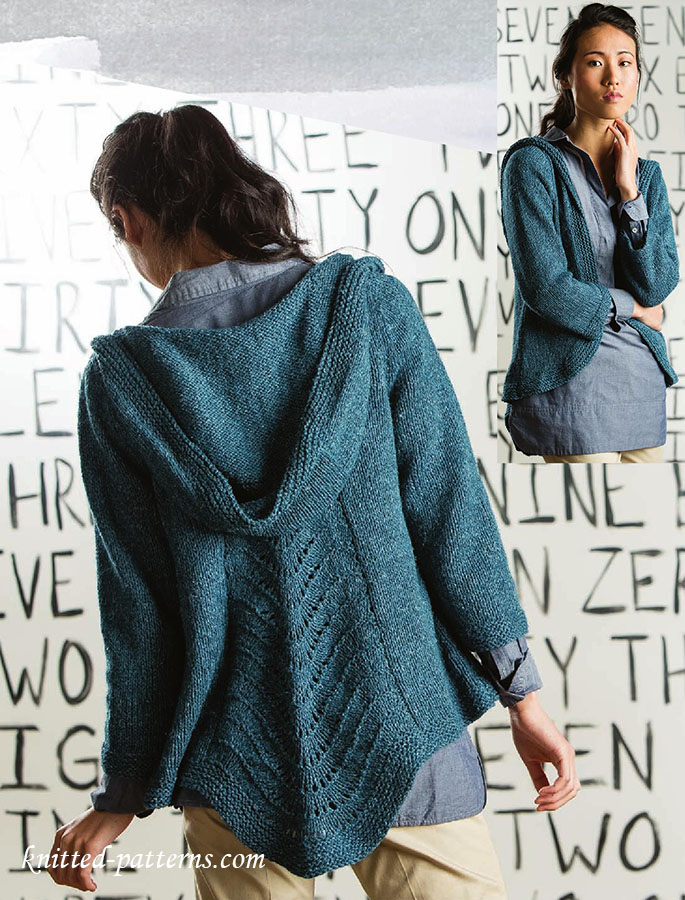 Womens Knitted Jackets Patterns