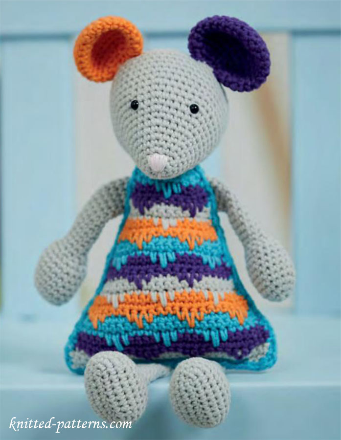 Toys To Crochet Free Patterns : Crochet toy mouse pattern free